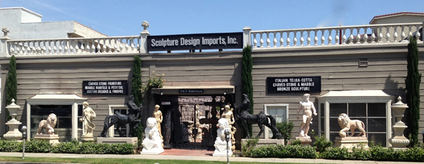 Sculpture Design Imports office